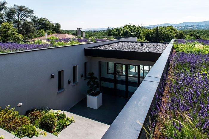 maison contemporaine La Tour de Salvagny