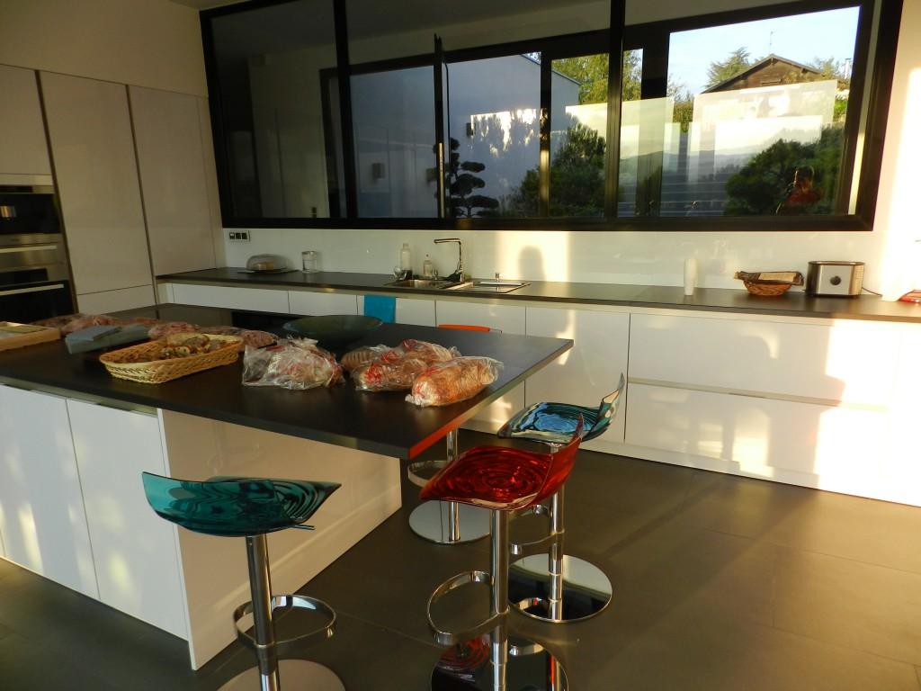 cuisine contemporaine la Tour de Salvagny